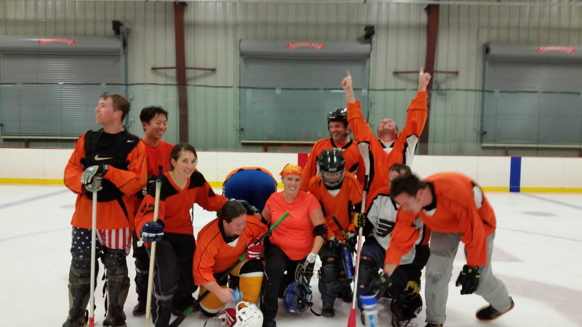 Boston Broomball